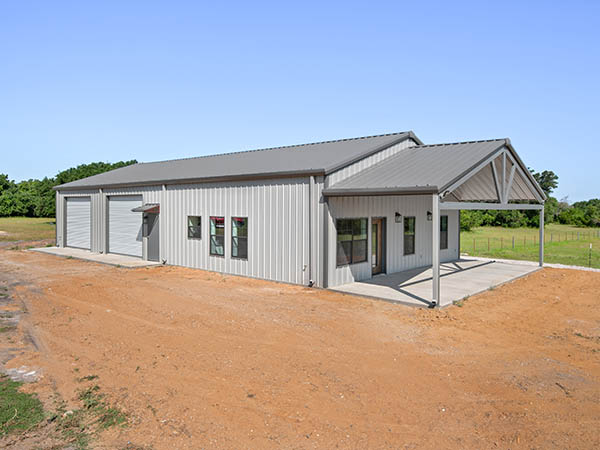 Barndominiums in Bryan/College Station, Texas